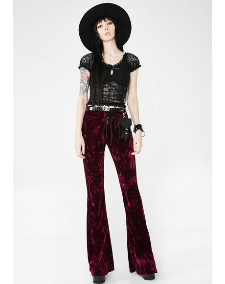 Wisteria Bell Bottoms