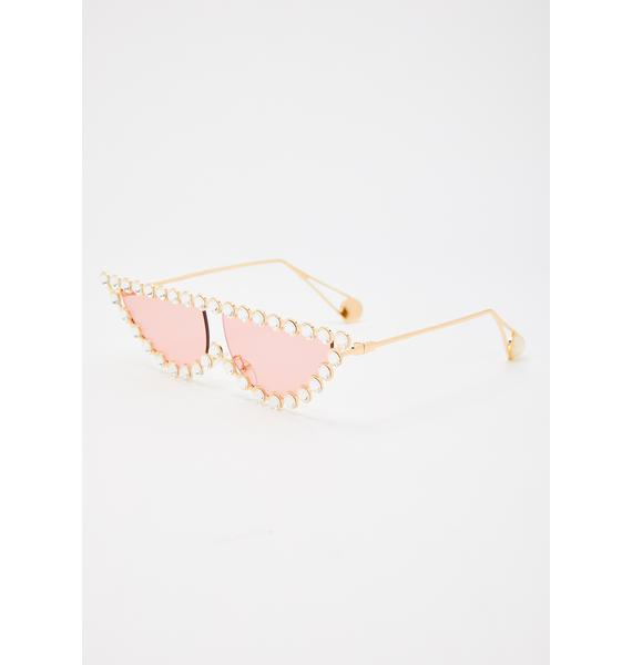 Gumdrop Glam Kitty Jeweled Sunglasses
