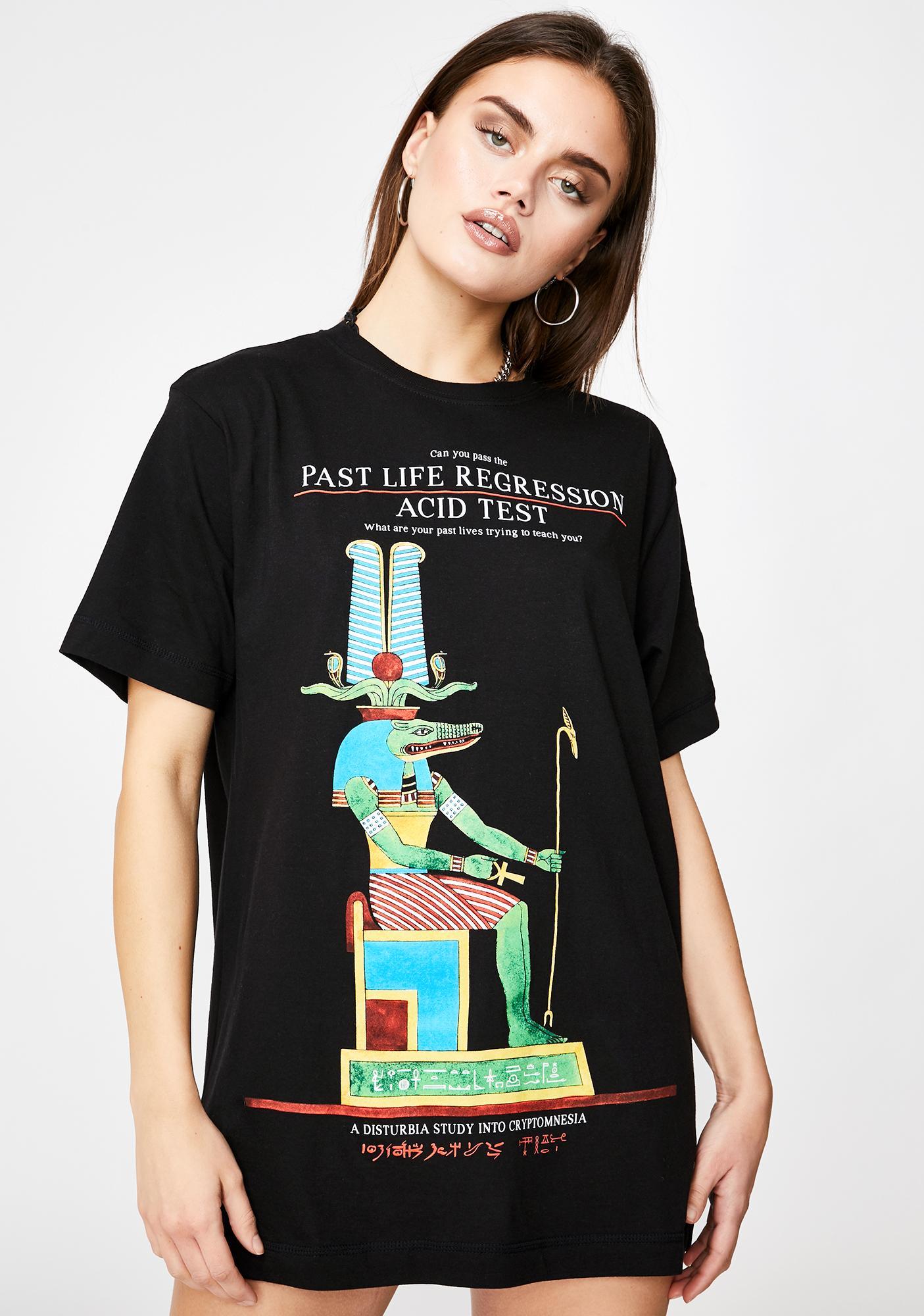 Disturbia Past Life Graphic T-Shirt