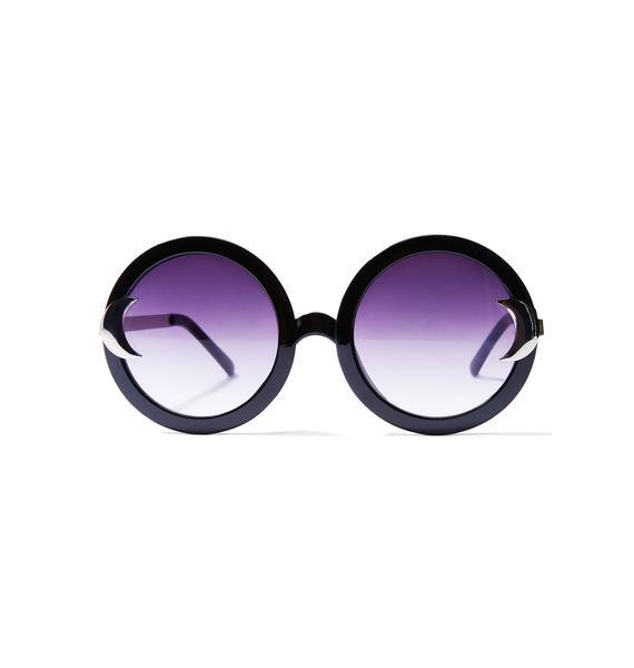 Killstar Lunar Doll Sunglasses