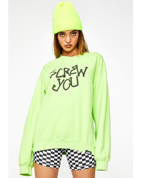 Driver Crewneck Sweatshirt