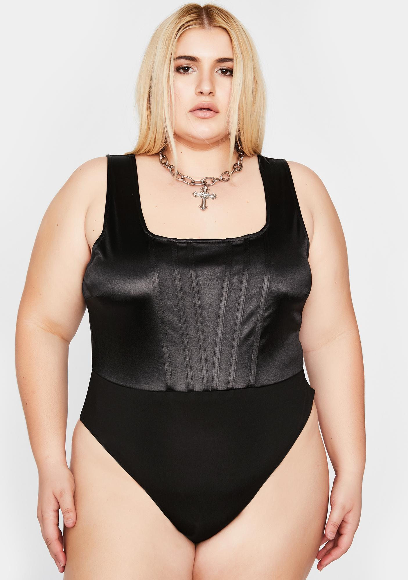 Some Kind Of Wonderful Corset Bodysuit