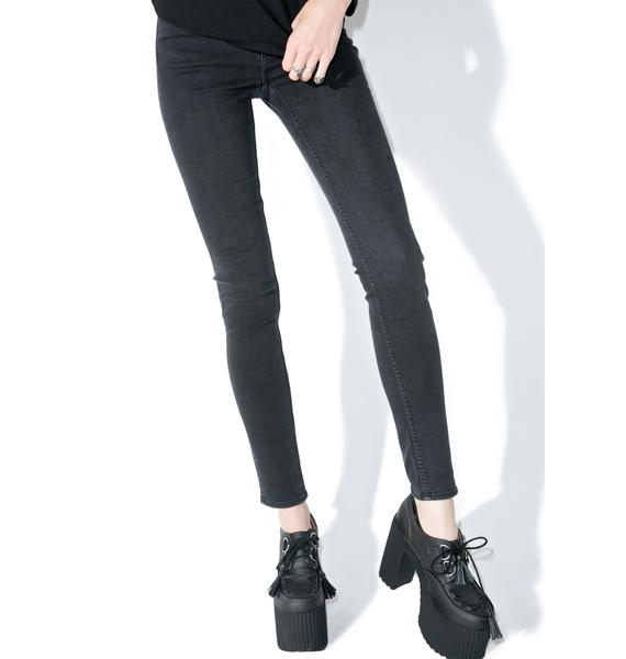 Cheap Monday Grey State High Snap