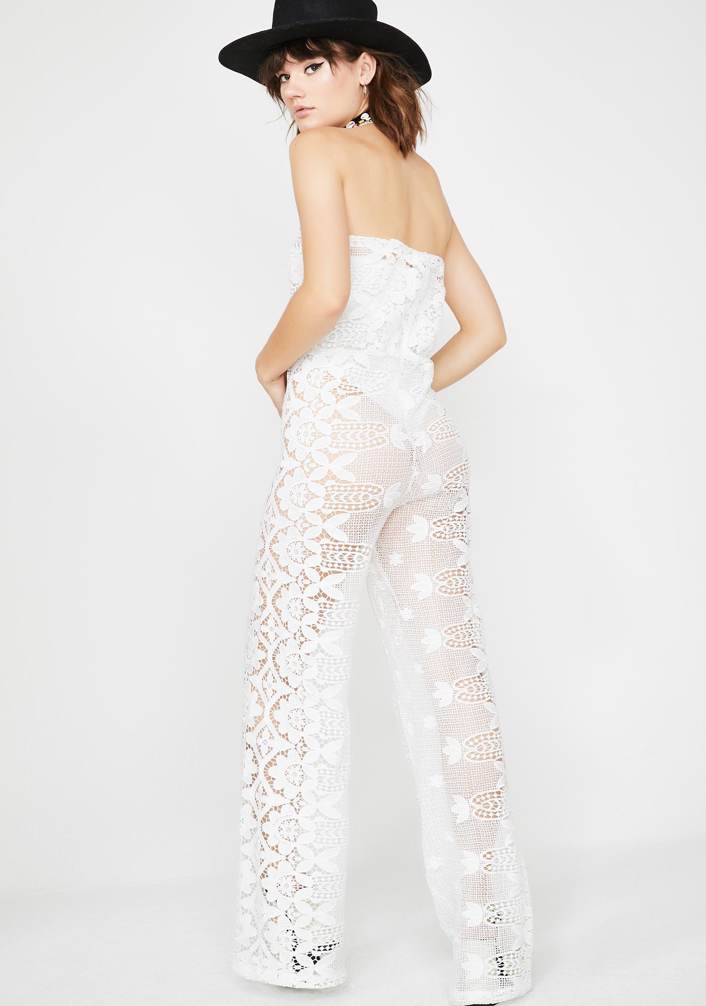Moonshine Freeze Lace Jumpsuit