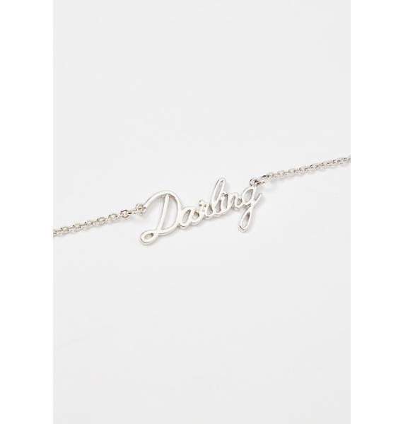 Du Bois Darling Nameplate Necklace