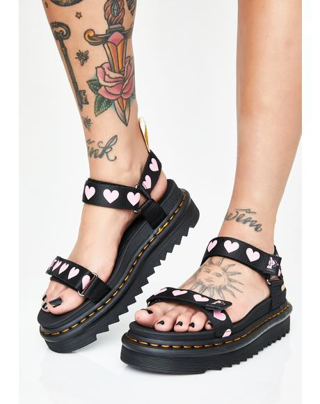 x Lazy Oaf Vegan Lo Sandals