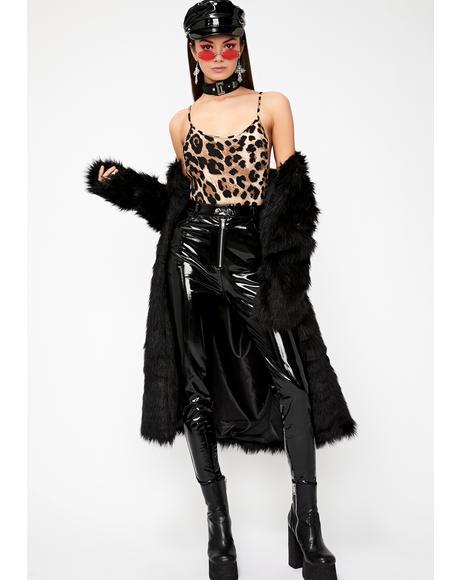 Fierce Behavior Leopard Bodysuit