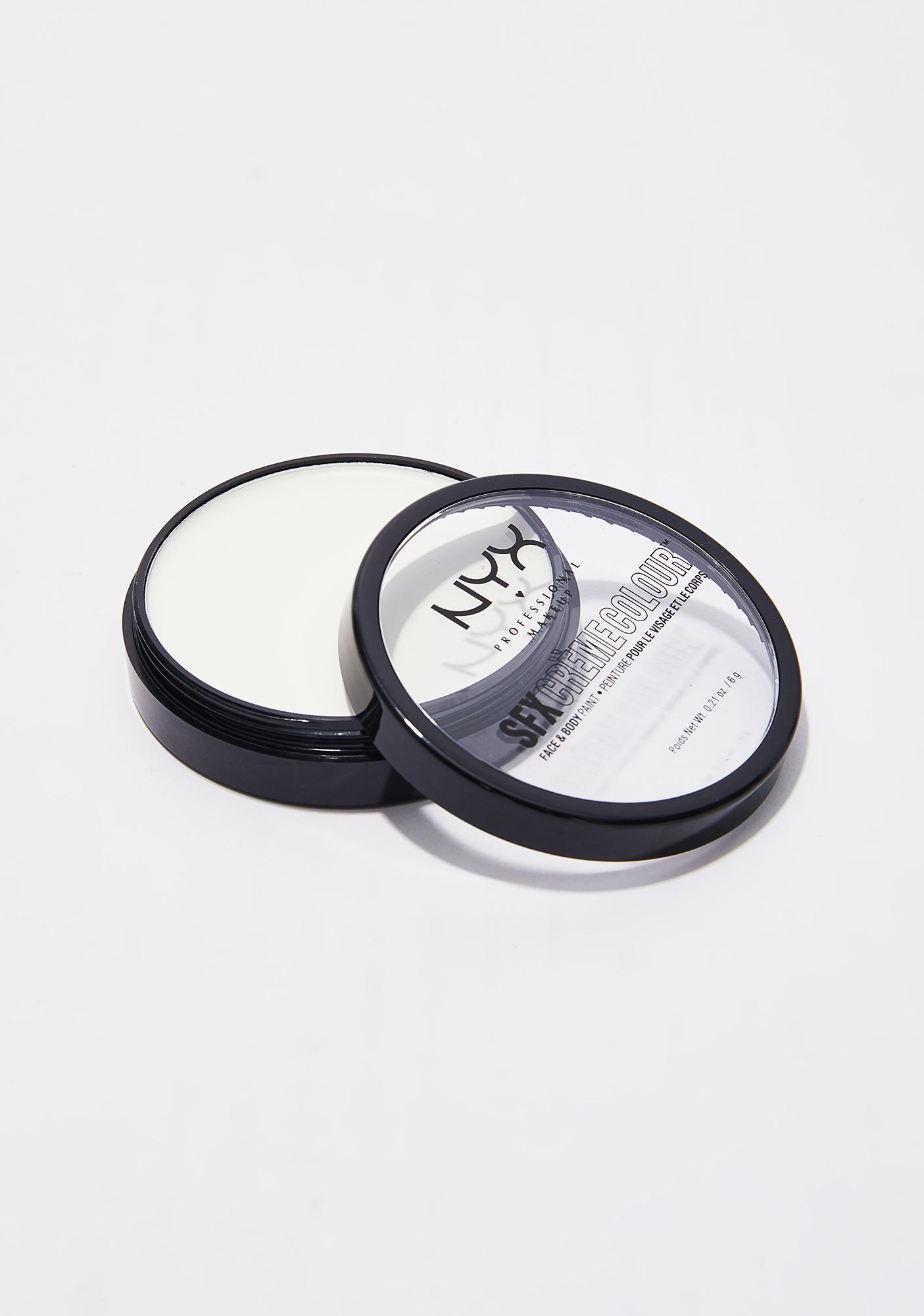 NYX White SFX Creme Colour Face & Body Paint