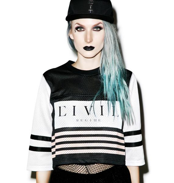 Civil Clothing Team Focused & Fierce Crop Jersey