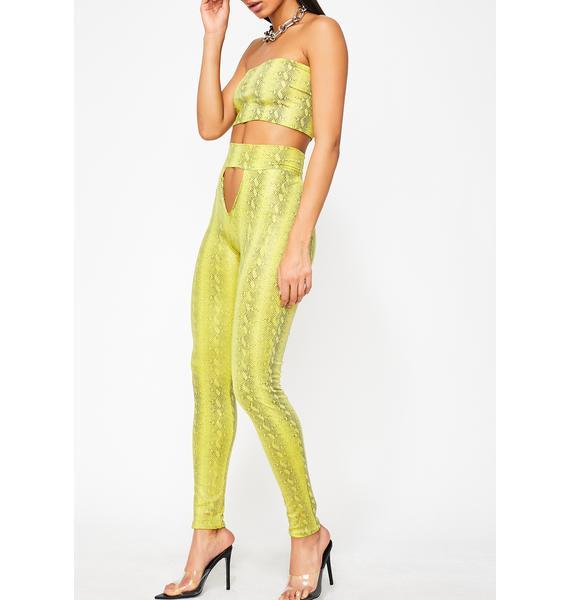 TLZ L' FEMME V-Cut High Waist Trousers