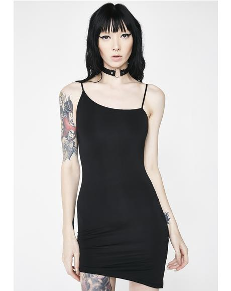 Not An Angel Asymmetrical Dress