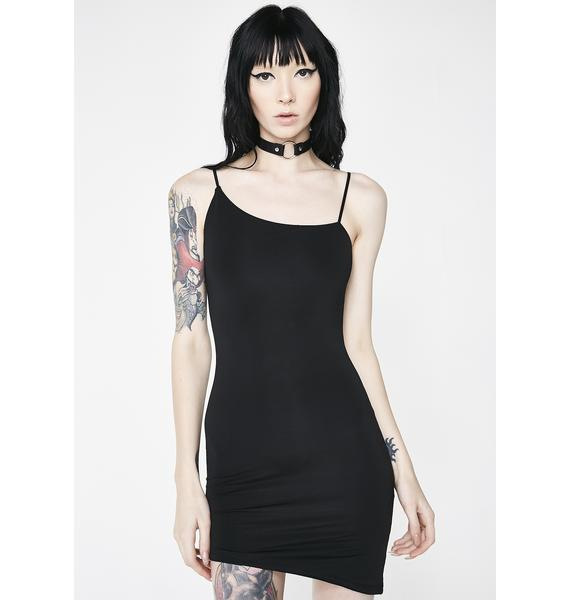 Kiki Riki Not An Angel Asymmetrical Dress