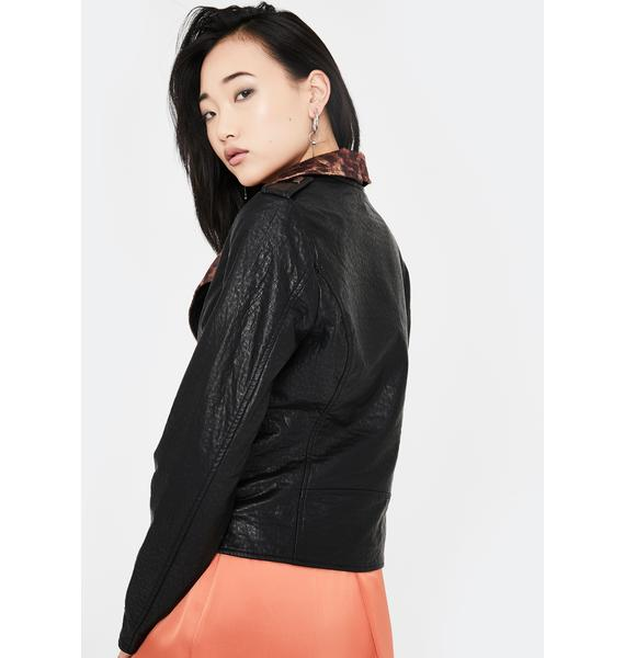 Lira Clothing Wynona Moto Jacket