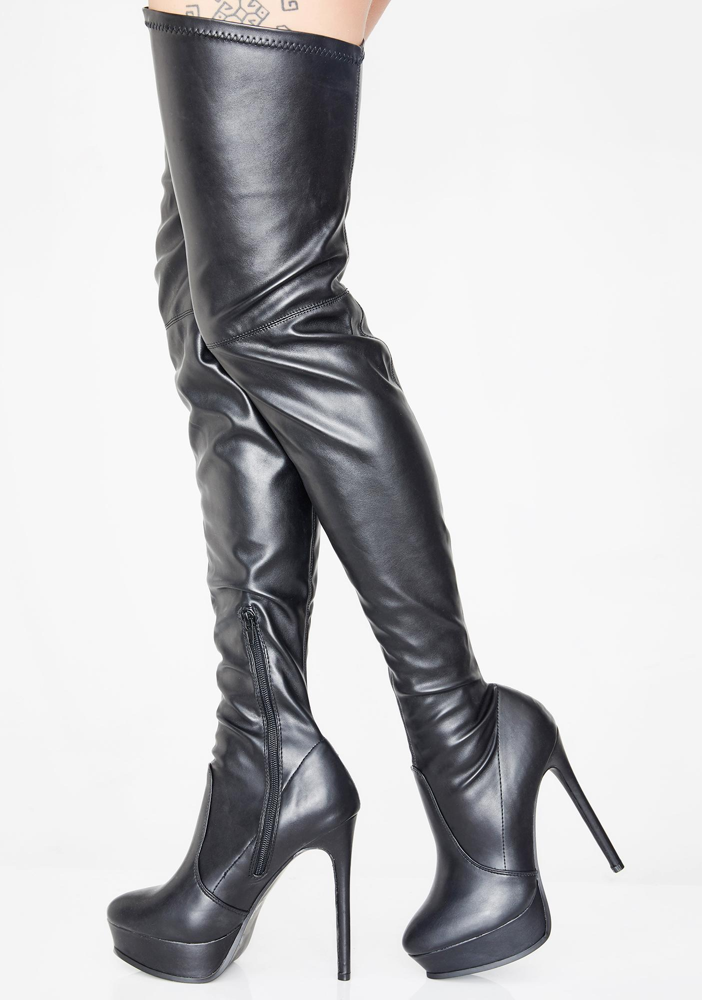 0bfbf25b119 In Lust Thigh High Boots