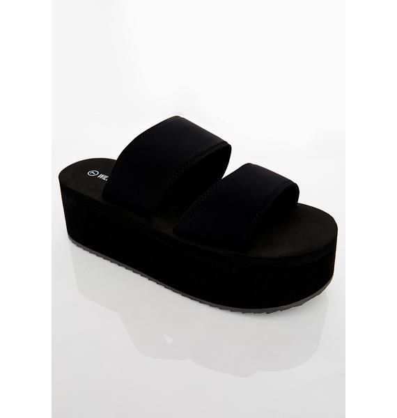 Chill Mode Platform Sandals