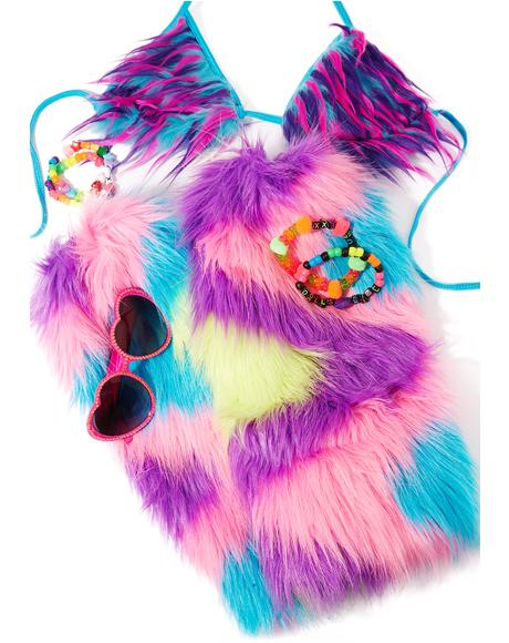Wild Creature Fluffy Leg Warmers
