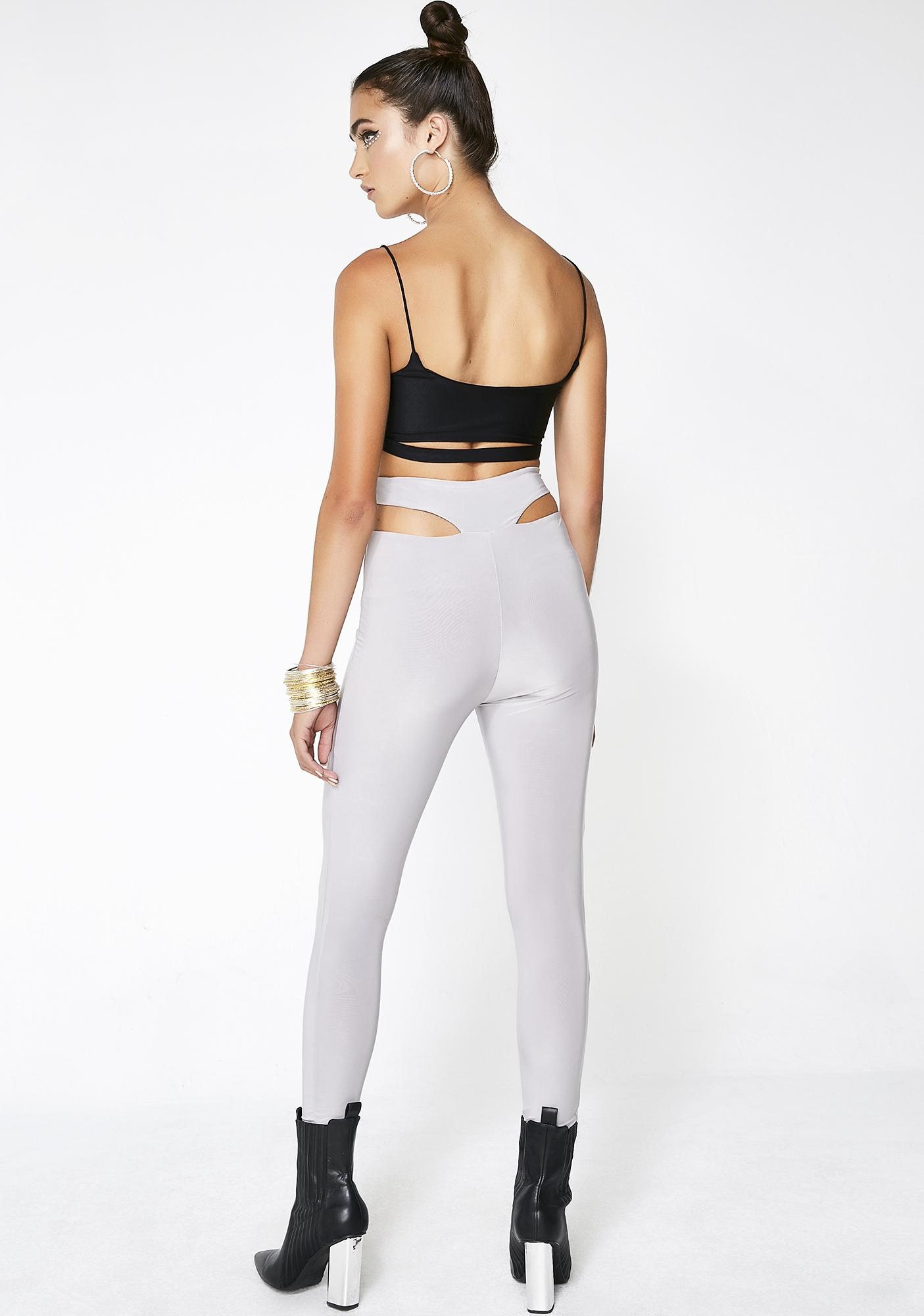Misty Aim To Tease Cut Out Leggings