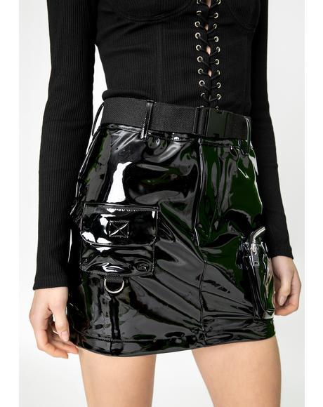 Edam Vinyl Skirt