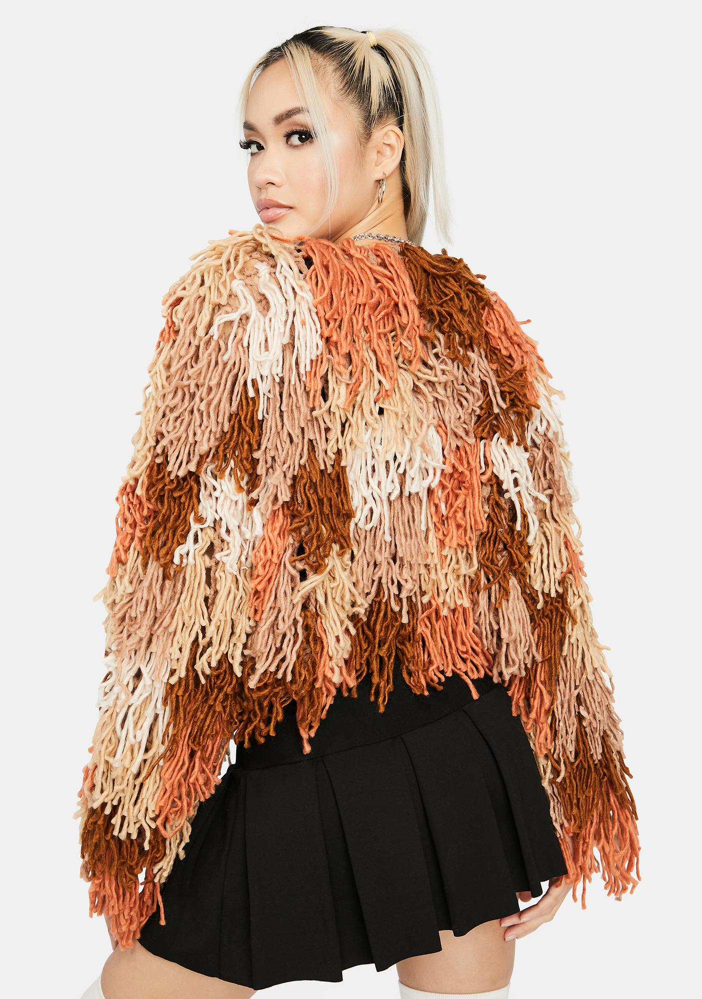 Like A Firebird Fringe Jacket