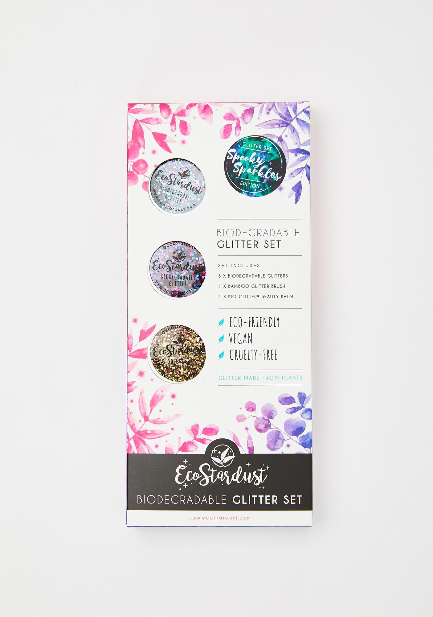 EcoStardust Spooky Sparkles Bio Glitter Set