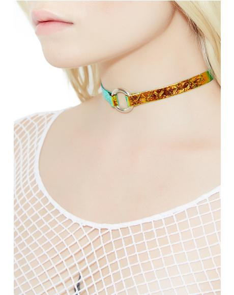 Seafoam Sea Princess O-Ring Choker