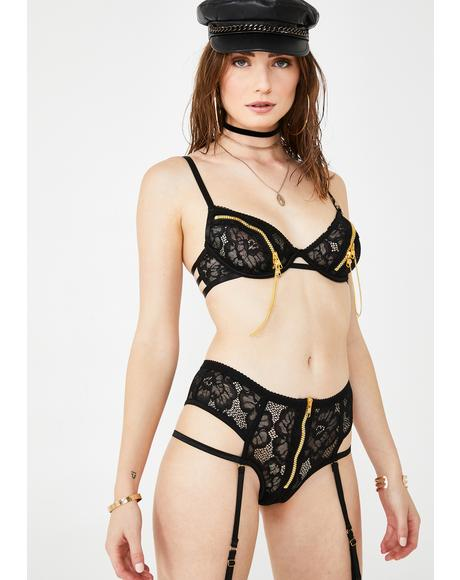 Zip Me Up Lace Set