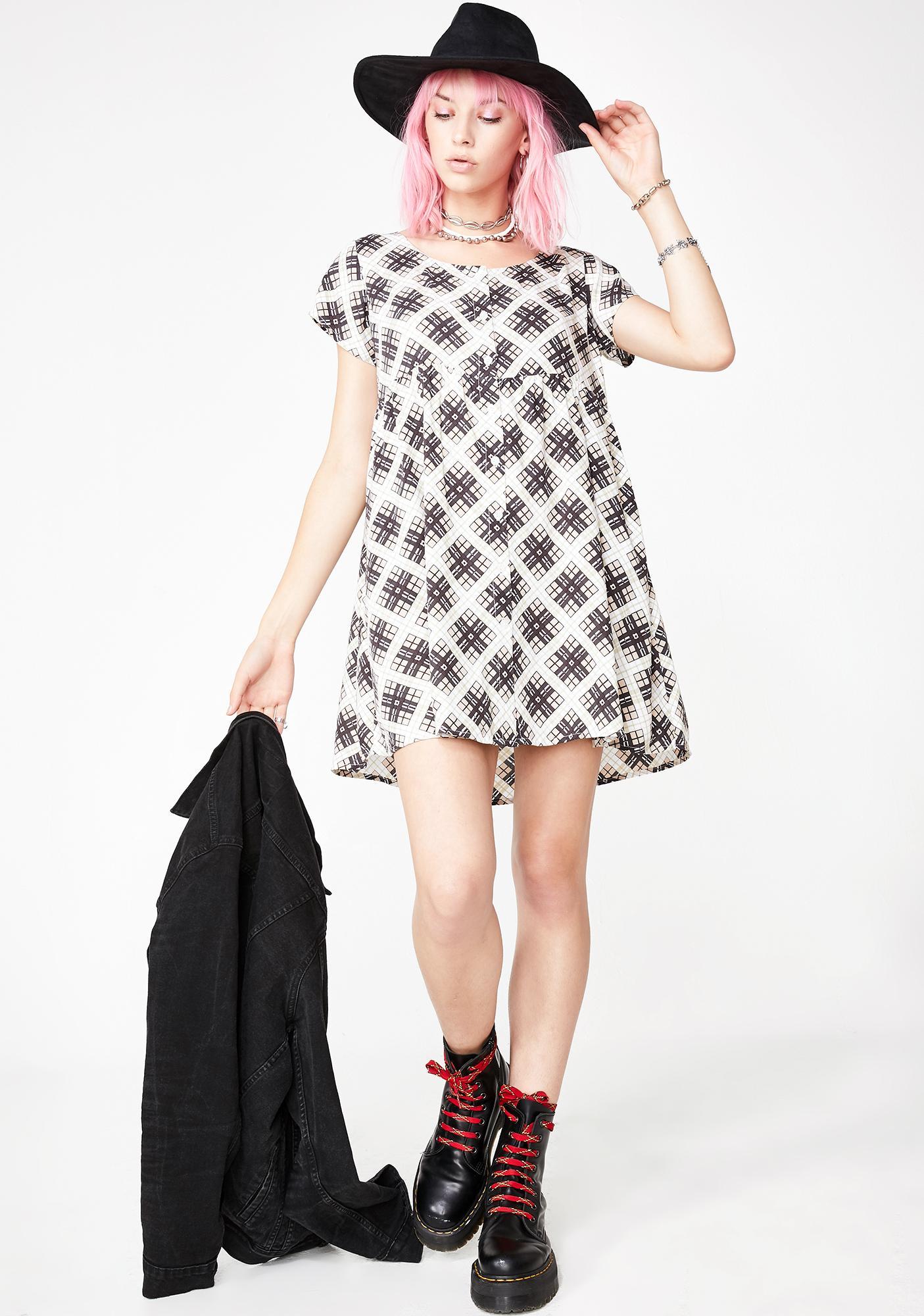 Motel Skibbie Babydoll Dress