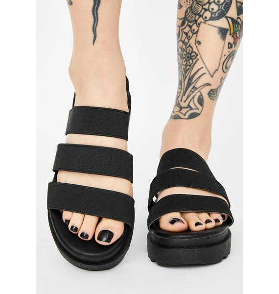 Darkside It's A Deal Slide Sandals