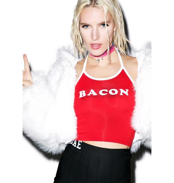 O Mighty OG Bacon Halter Top