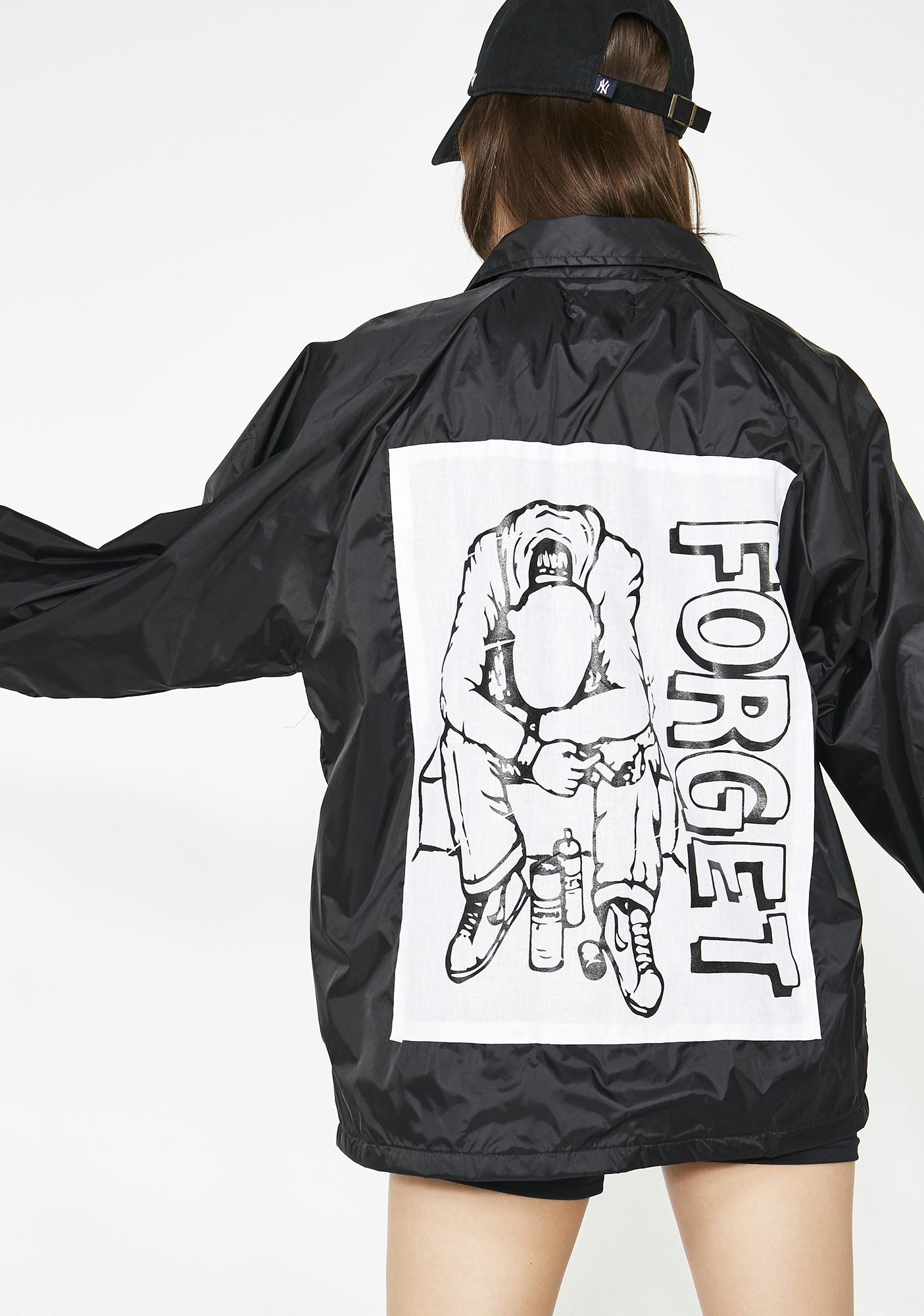 Learn To Forget Major Threat Coaches Jacket