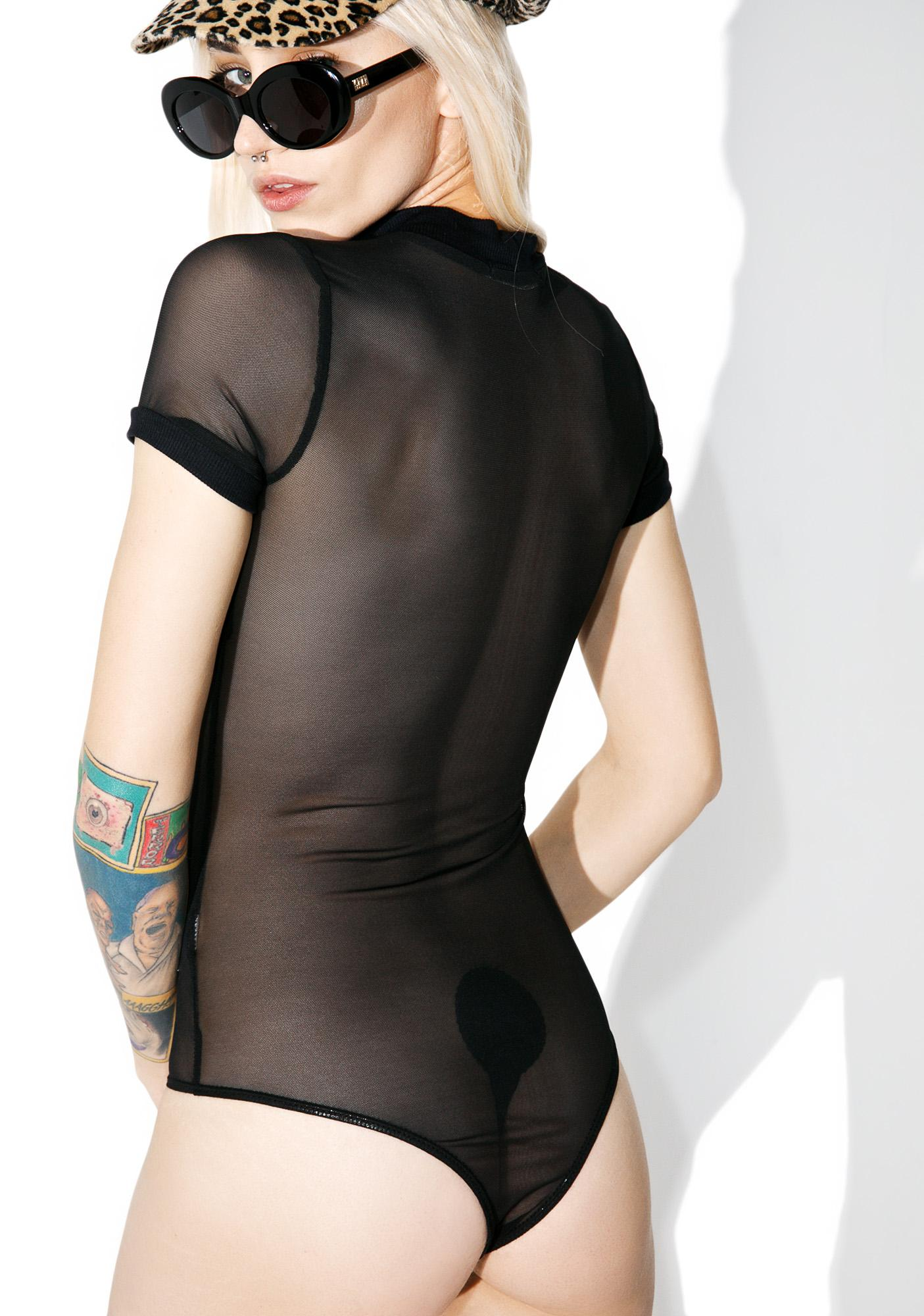 Distraction Mesh Bodysuit