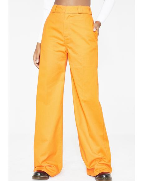 Juiced Worker Wide Leg Pants