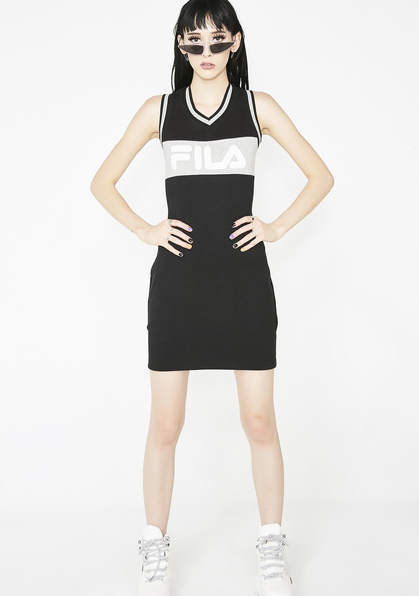 31faba20b52c Fila Leigh Rib Dress | Dolls Kill