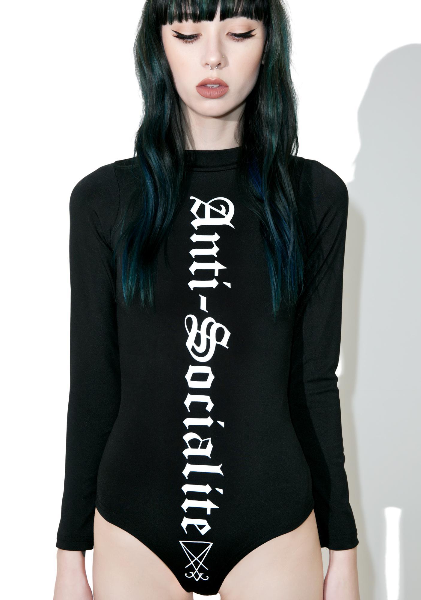 Disturbia Anti-Socialite Bodysuit