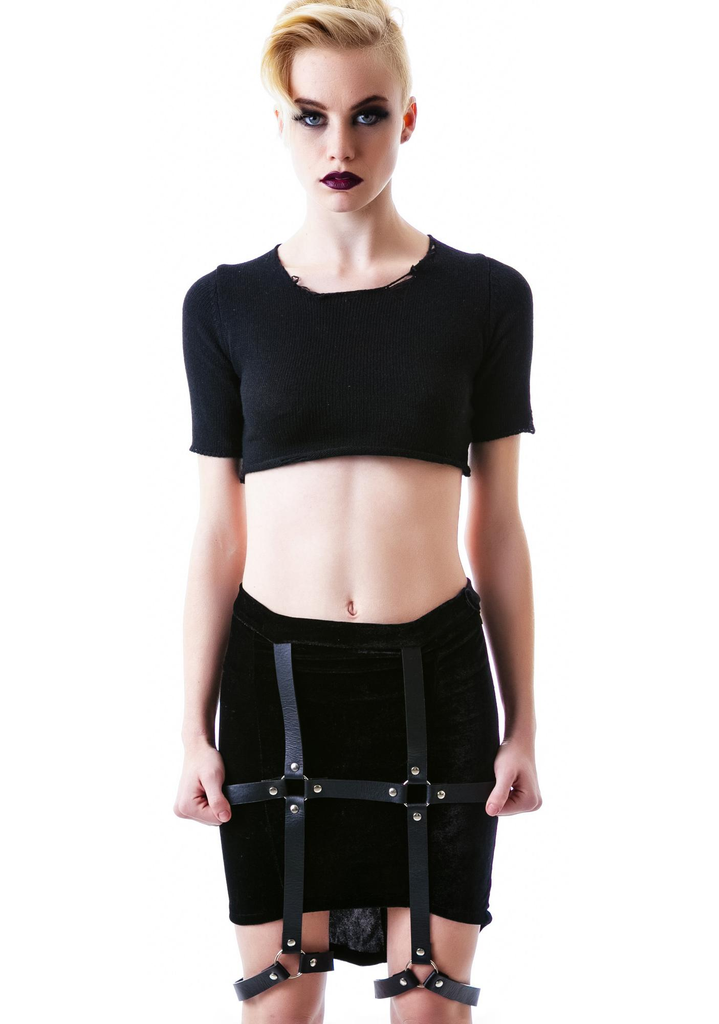 UNIF Harness Skirt