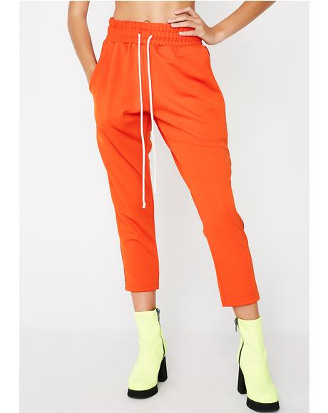 x Bana Bongolan Orange Track Pants