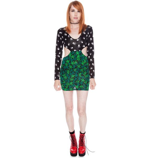 Our Prince of Peace Smokin' Skulls Sabbath Dress