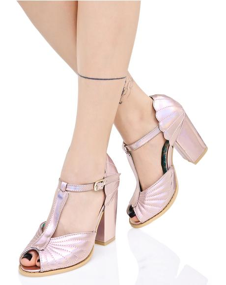 Mother Of Pearl Heels