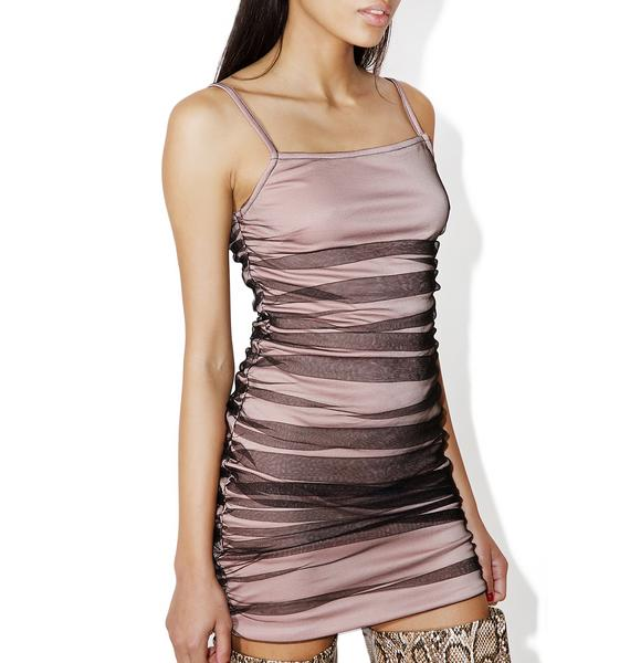 As I Am Gimme Honesty Mini Dress
