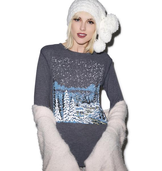Wildfox Couture Cozy Cabin Chalet Thermal