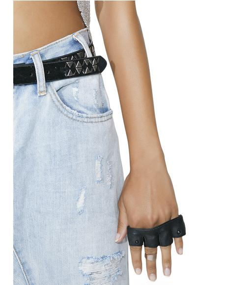 Onyx Steam Trunk Knuckle Glove