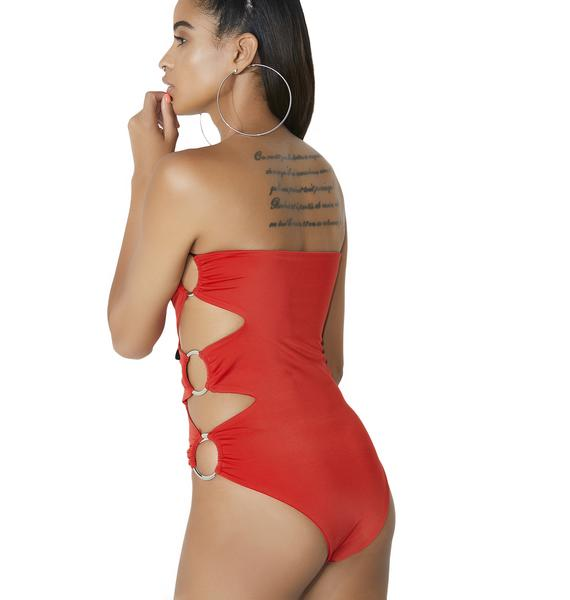 Freakum Cut-Out Bodysuit