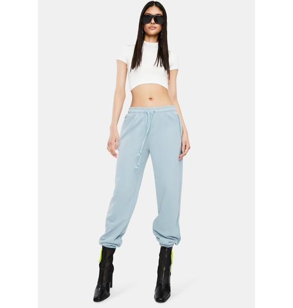 THE KRIPT Blue Alessia Sweatpants