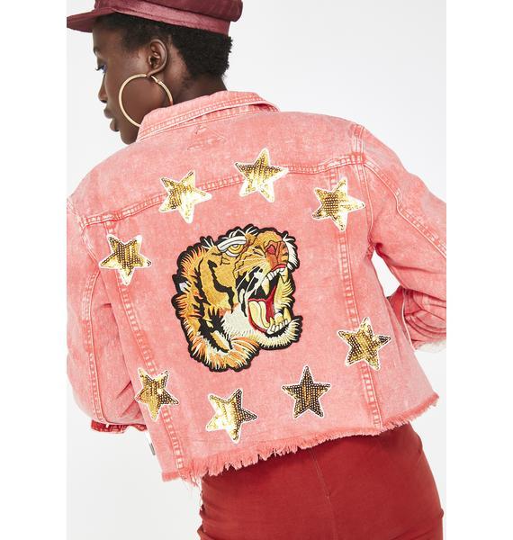 Bitter Taiga Embroidered Denim Jacket