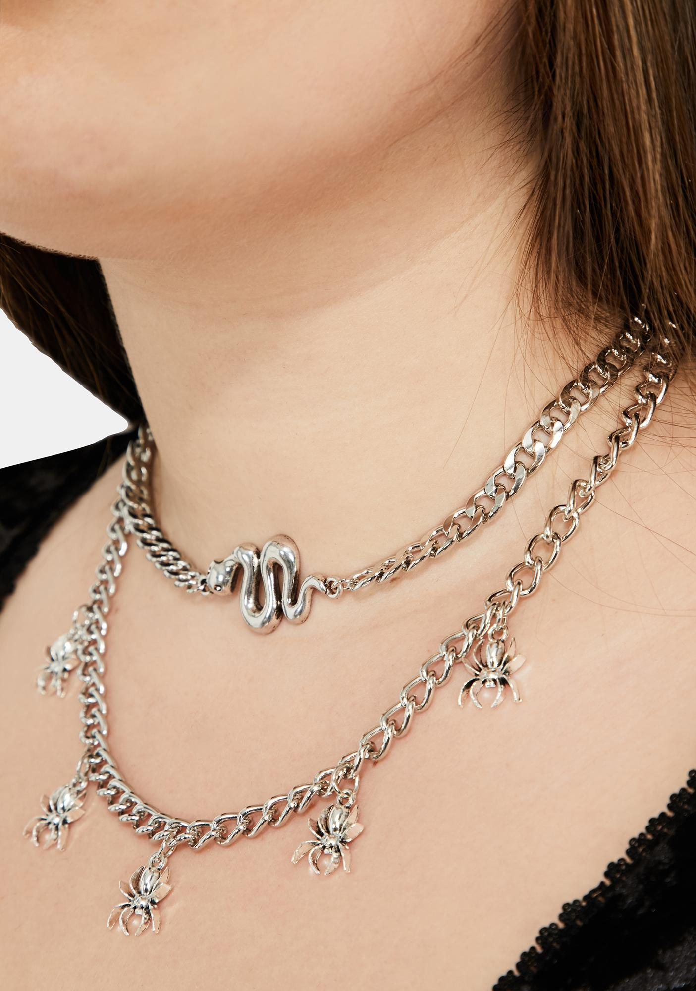 In The Cauldron Chain Necklace