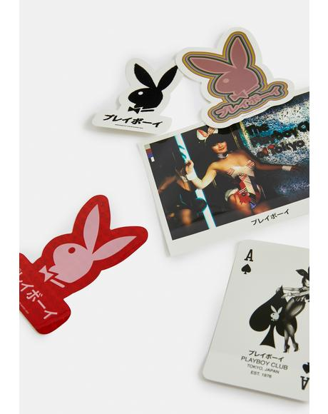 Playboy Japan Sticker Pack
