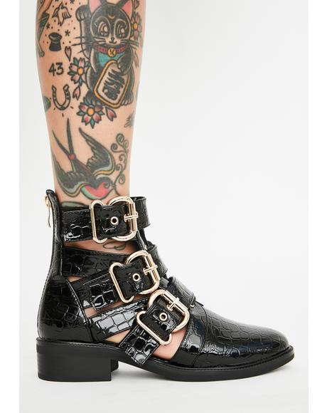 Issy Buckle Boots