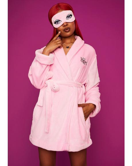 Beauty Rest Robe & Mask Set
