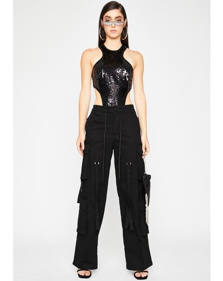 Flashin' Lightz Sequin Bodysuit