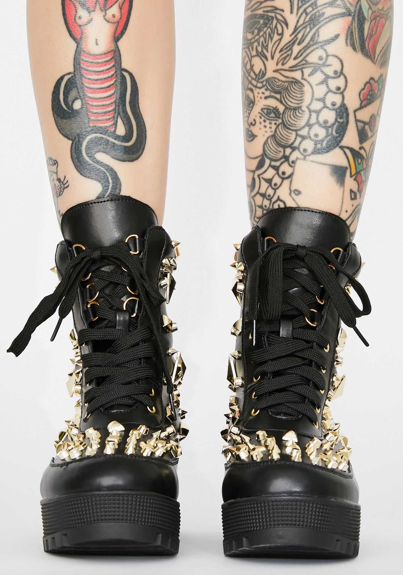Impure Mind's Made Up Studded Boots